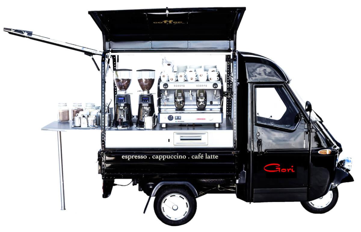 Flying Espresso - Cafe Catering - Gori-Kaffee