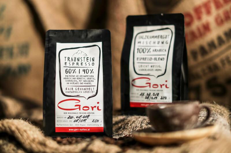 Gori Kaffee - die Sorten