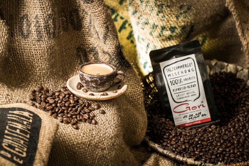 Optimal geröstet - Gori-Kaffee