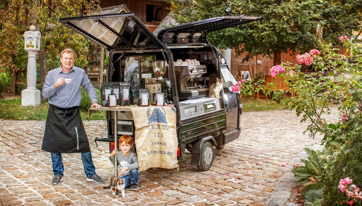 Gori Kaffee - Hannes Hüthmair - Kleinrösterei in Regau