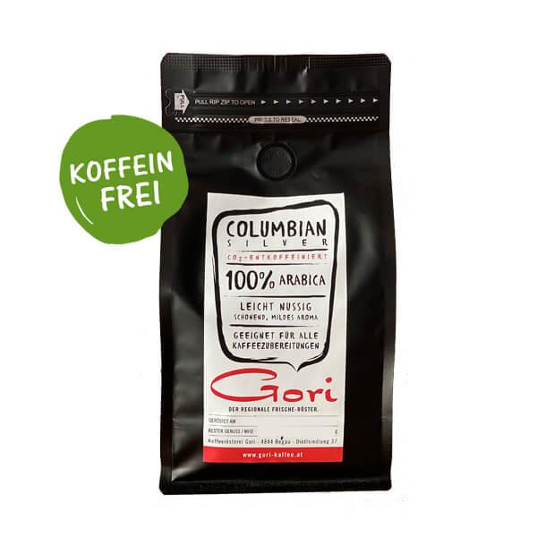 Columbian Silver - koffeinfreier Kaffee