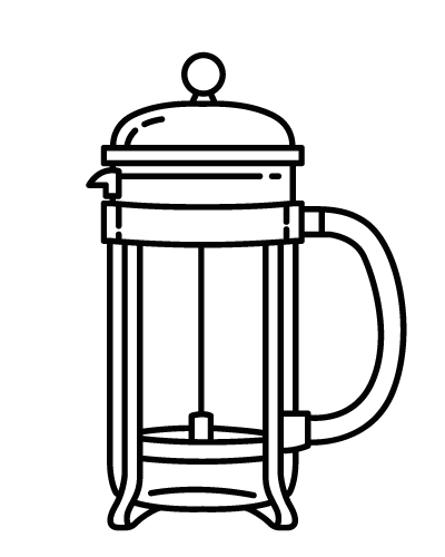 Gori Kaffee für die French Press