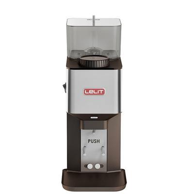 Lelit William Kaffeemühle Pl71 aus gebürstetem Edelstahl