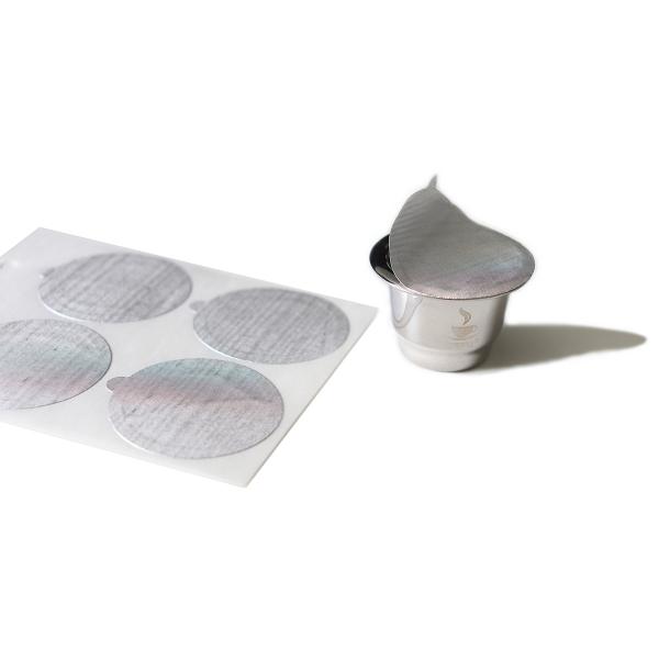 Ersatz Aroma-Sticker für Edelstahlkapseln